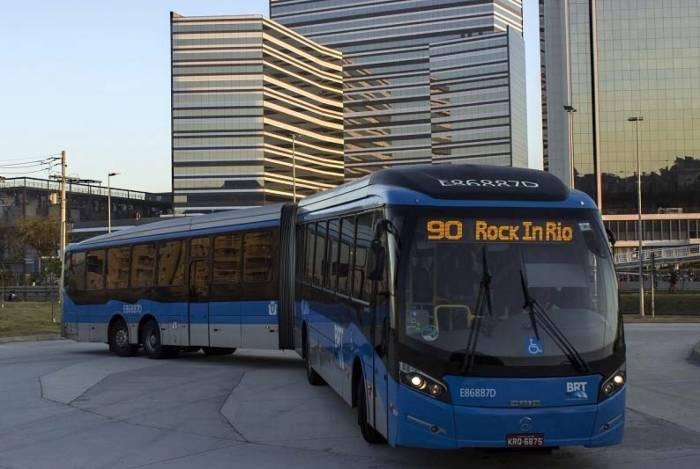 Gasto total, ida e volta para a Cidade do Rock, será de R$ 15,05 por passageiro, sem incluir valor de metrô