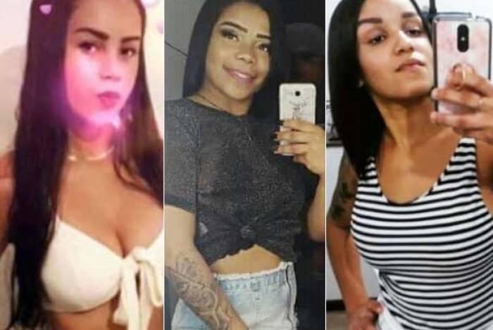 As três jovens estavam em casa quando foram assassinadas. Crime ocorreu na noite de quarta-feira