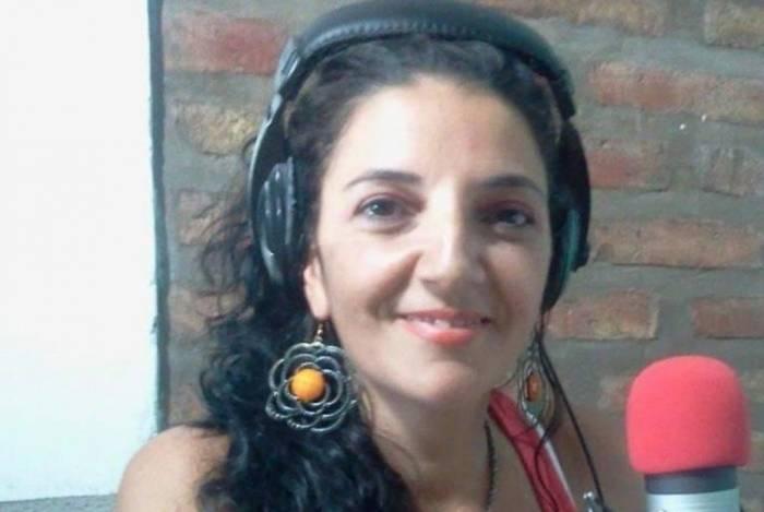 Locutora de rádio, Claudia Vázquez