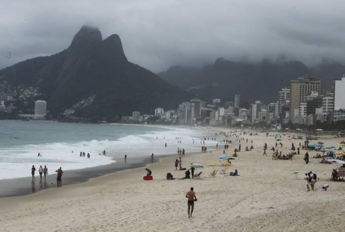 Rio tem previsão de chuva forte