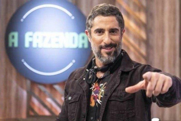 Marcos Mion, apresentador de 'A Fazenda'