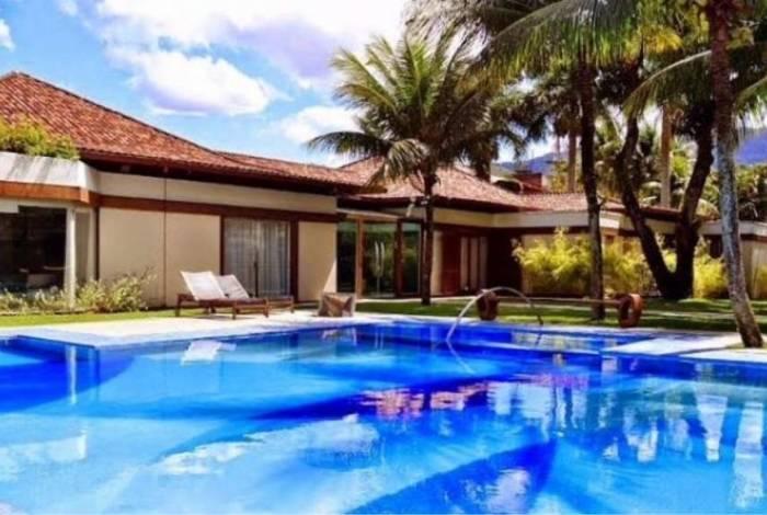 A casa do ex-casal Edson Celulari e Claudia Raia