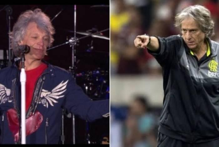 Jon Bon Jovi e Jorge Jesus