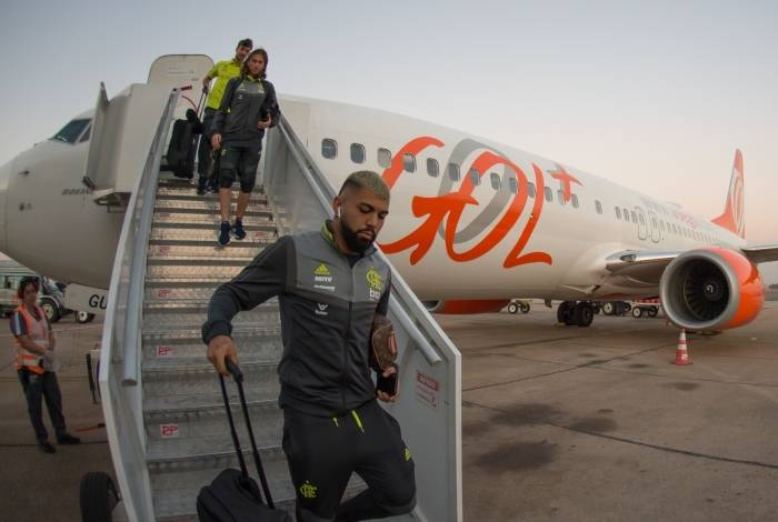 Embarque e Desembarque POA - 30-09-2019 Foto: Alexandre Vidal / Flamengo