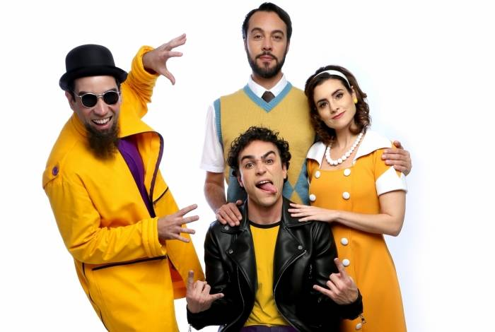 O espetáculo 'Raulzito Beleza - Raul Seixas para Crianças' faz parte da programação do Sesc Tijuca