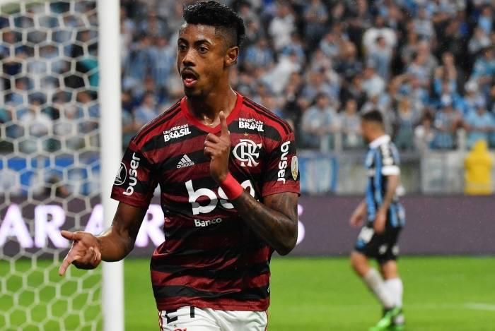 Bruno Henrique vem brilhando com a camisa do Flamengo