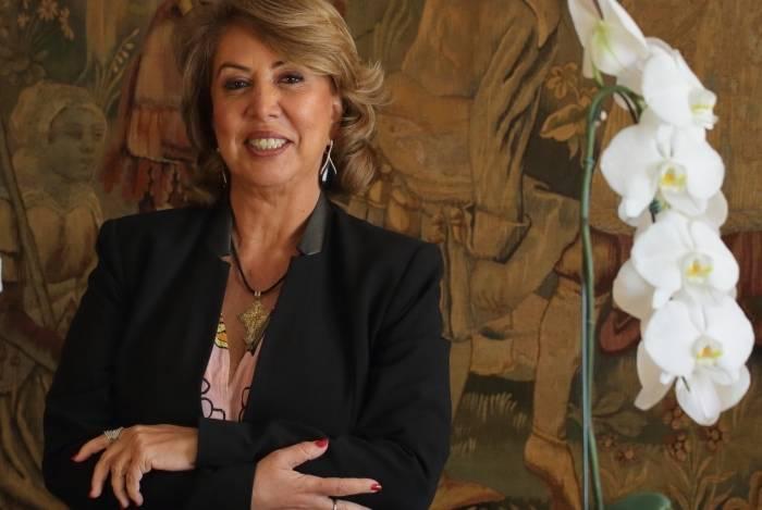 Angela Costa, presidente da ACRJ,