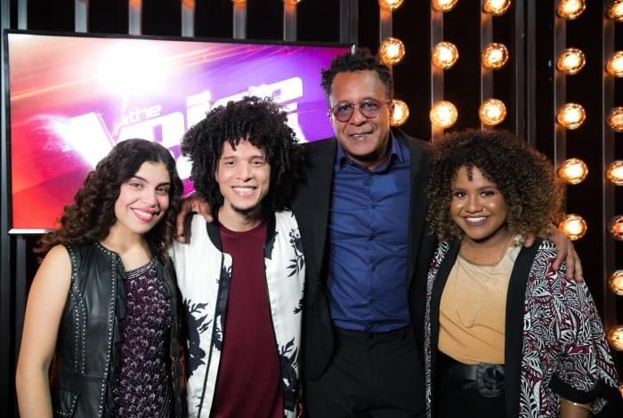 Lúcia Muniz, Willian Kessley, Tony Gordon e Ana Ruth: os finalistas do 'The Voice Brasil'