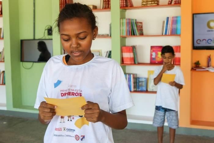 Os alunos da rede municipal de Campos terão um canal no YouTube para compartilhar seus hábitos de leitura