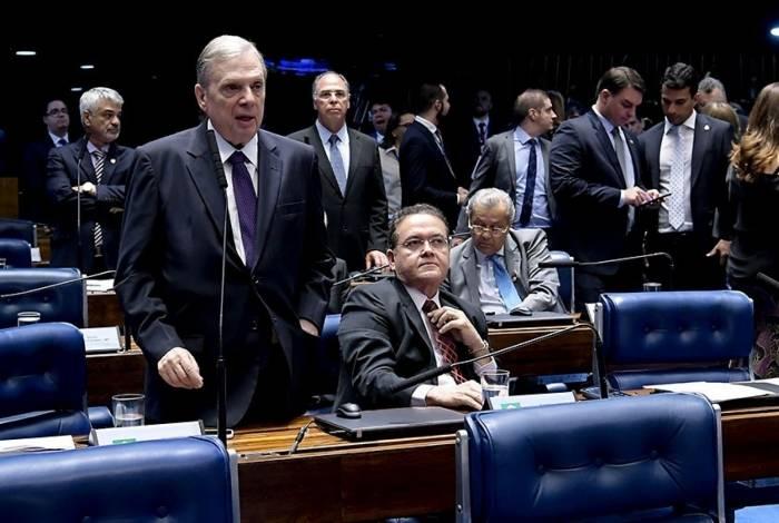 Senador Tasso Jereissati discursa no Senado
