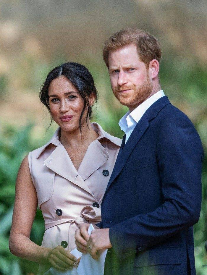 Príncipe britânico Harry, duque de Sussex, e Meghan, duquesa de Sussex
