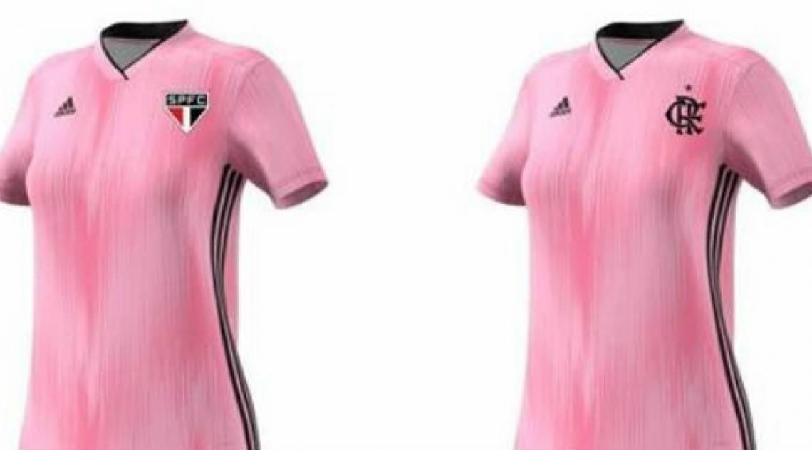 Flamengo e São Paulo se juntaram para criar camisa especial