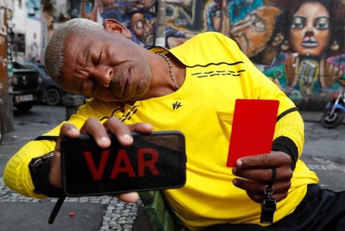 Rio, 03/10/2019, Especxial com Joinha, o arbitro do VAR, foto de Gi;van de Souza / Agencia O Dia