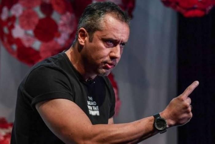 Roberto Alvim, diretor do Centro de Artes Cênicas, da Funarte. Servidores do Ceacen foram todos exonerados
