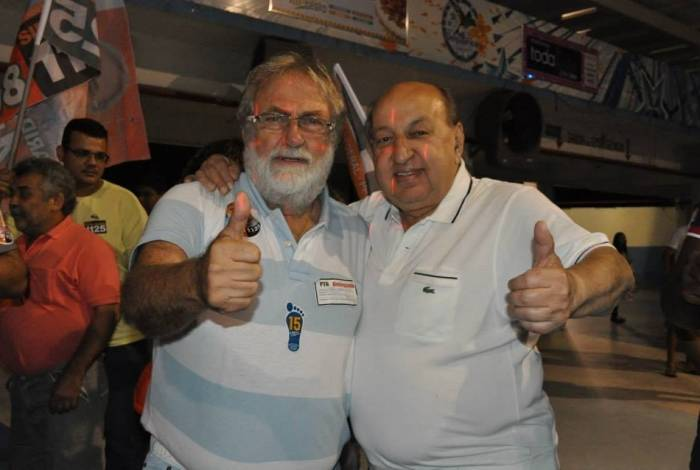 Os primos Farid Abrão (à esquerda) e Simão Sessim: disputa eleitoral