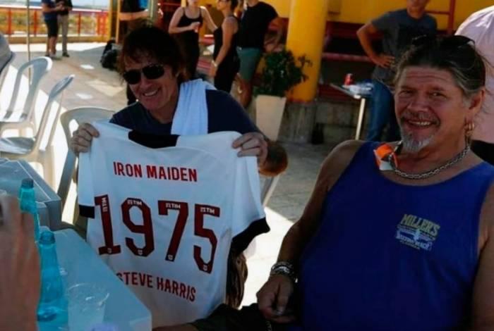 Steve Harris, do Iron Maiden, estará no Palco Mundo do Rock in Rio por volta de 21h