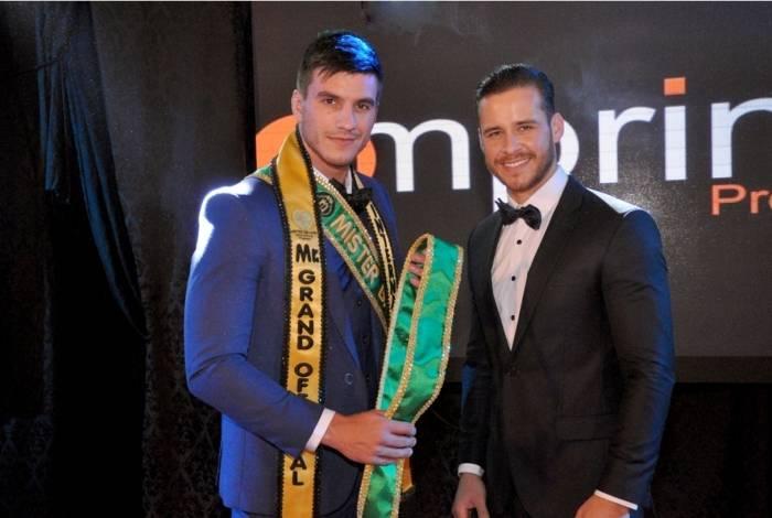 Marcos Vinícius Tirapelli é eleito Mister Brasil Grand International