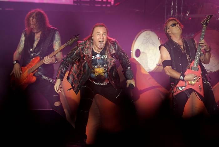 Helloween fez show com três vocalistas