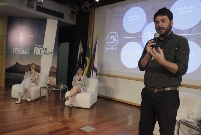 Pedro El Bainy, da Fábrica de Startups, apontou necessidade de fortalecer o ecossistema empreendedor