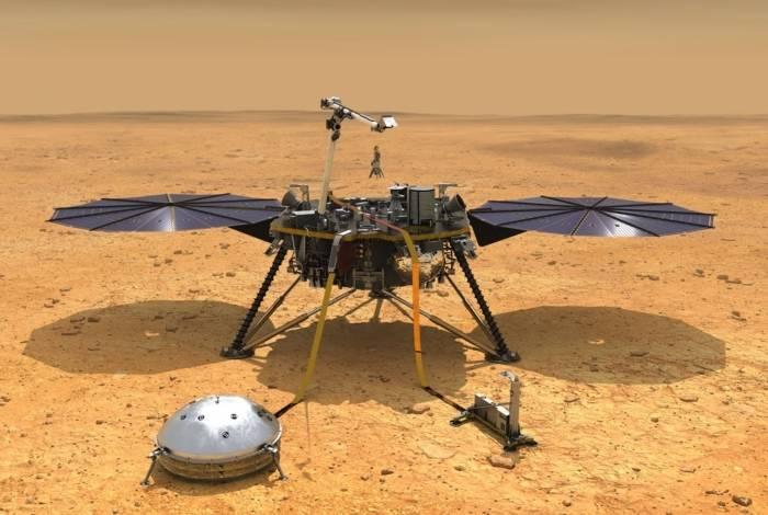 Sonda da Nasa em Marte detecta sons estranhos