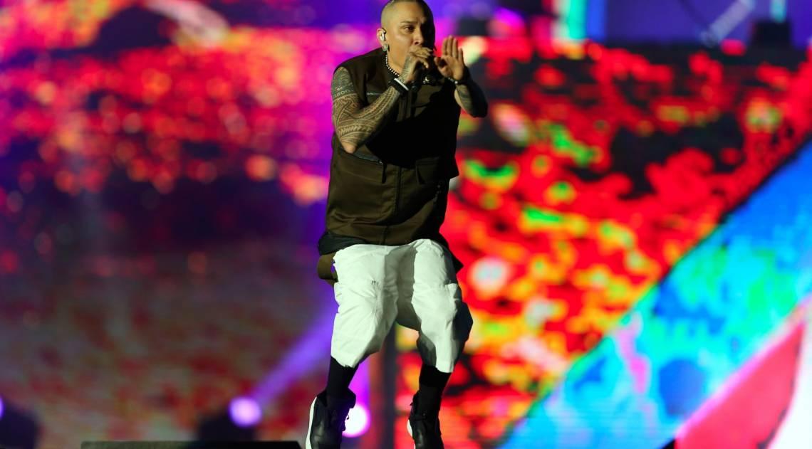Rock in Rio - O show da banda Black Eyed Peas no palco Mundo. Foto: Daniel Castelo Branco / Agencia O Dia.