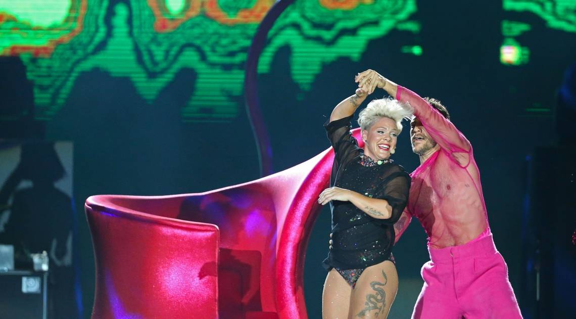 Rock in Rio - O show da PINK no palco Mundo. Foto: Daniel Castelo Branco / Agencia O Dia.