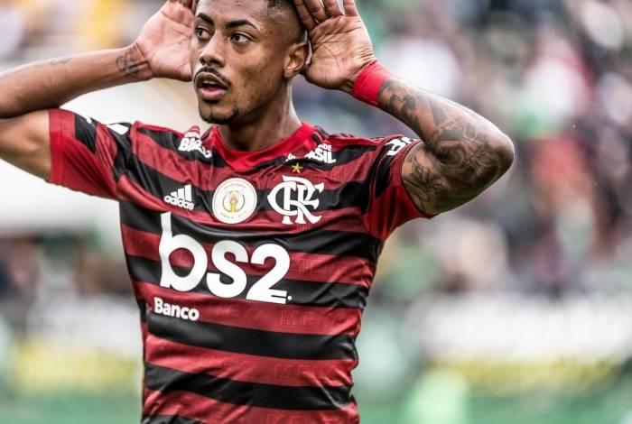 Bruno Henrique, jogador do Flamengo