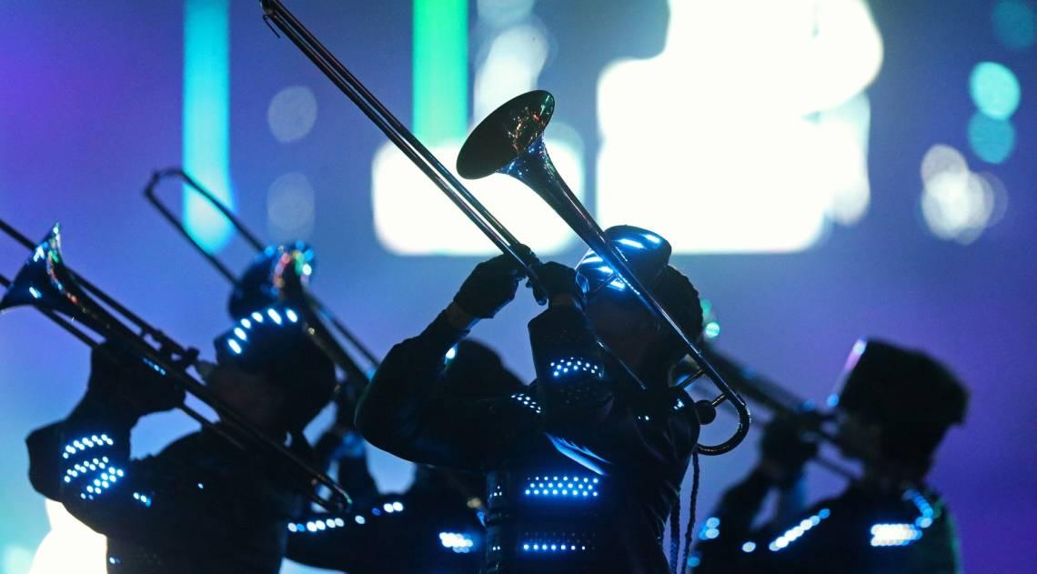 Rock in Rio - O show da banda MUSE no palco Mundo do vocalista Matthew Bellamy. Foto: Daniel Castelo Branco / Agencia O Dia