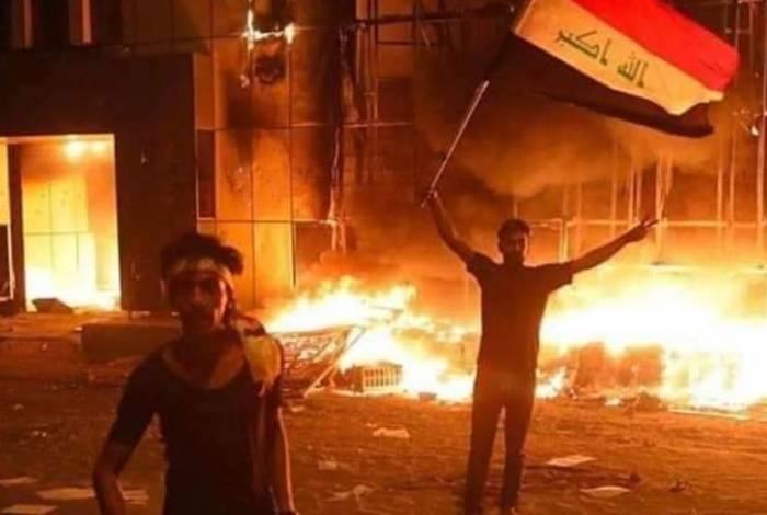 Protestos acontecem desde a primeira semana de outubro
