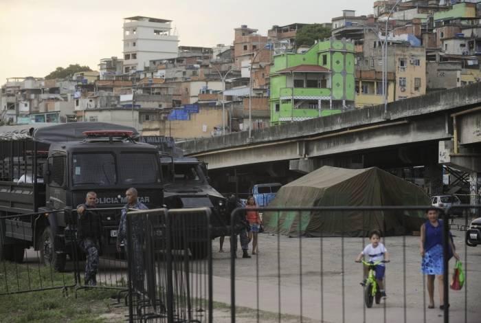 Complexo de favelas da Maré