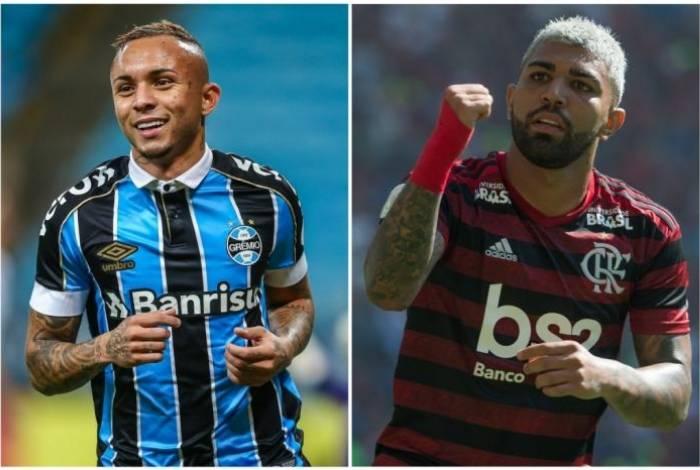 Gabigol e Everton 'Cebolinha'