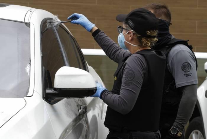 Polícia vai apurar se carro da filha do bicheiro Maninho foi seguido