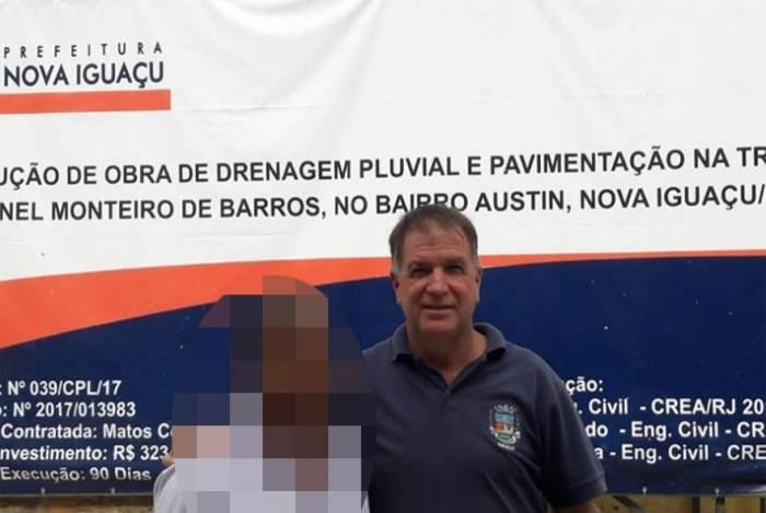 Ex-subsecretário de Obras de Nova Iguaçu Jeferson Ramos foi preso em flagrante por porte ilegal de arma em ação contra milícia de Austin, Nova Iguaçu