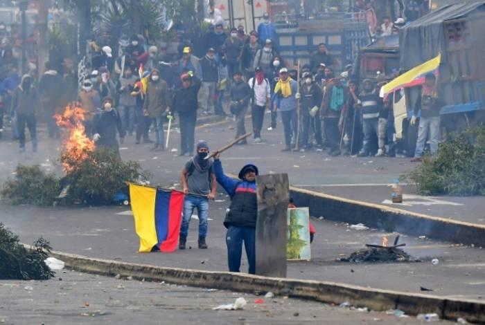 Reformas econômicas provocaram os maiores protestos em uma década no Equador