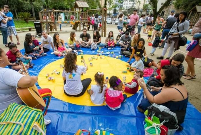 Dia das Criança: oficinas, no Hortifruti