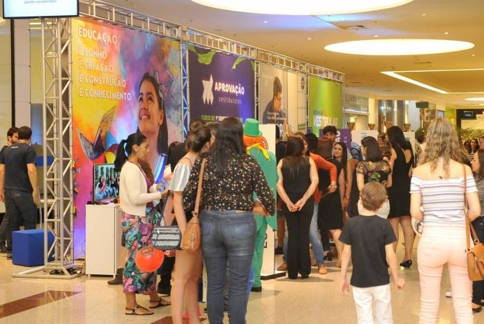 No ano passado, a feira Mega Expo Educação atraiu cerca de 50 mil pessoas ao Shopping Boulevard