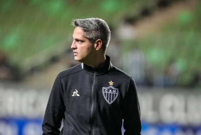 Rodrigo Santana, técnico do Atlético-MG