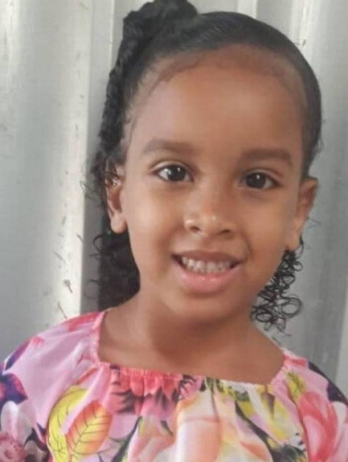 Estela, 6 anos, foi levada por tio