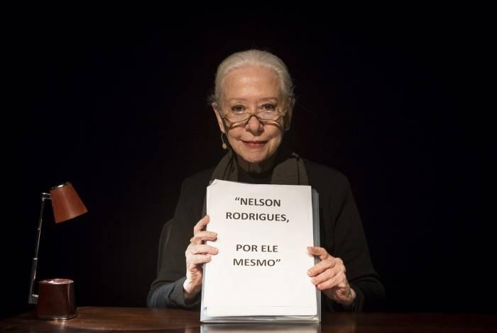 Fernanda Montenegro em 'Nelson Rodrigues por ele mesmo'
