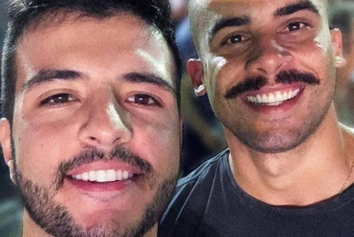 Matheus Ribeiro e Yuri Piazzarollo