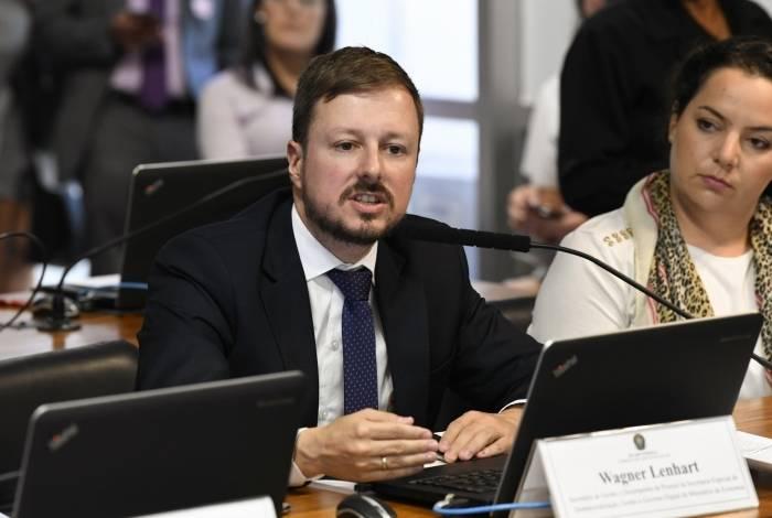 Secretário do Ministério da Economia, Wagner Lenhart defende remunerações mais
