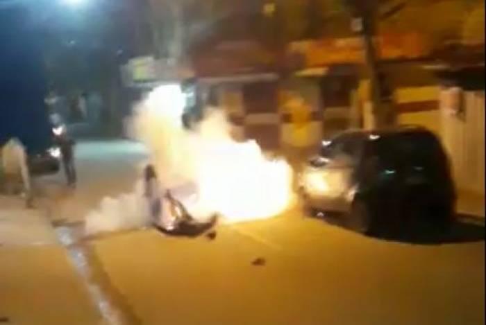 Homem explodiu granada que estava no bolso, nesta quinta-feira, no bairro Caramujo