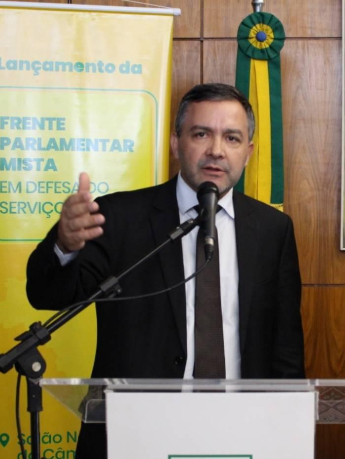 Presidente do Fonacate, Rudinei Marques diz que setor se sacrifica e atua na linha de frente de combate à covid-19
