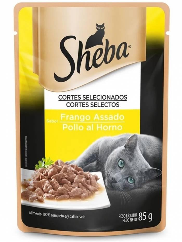 Em formato de picadinhos, Sheba lembra comida para humanos e é a novidade do mercado