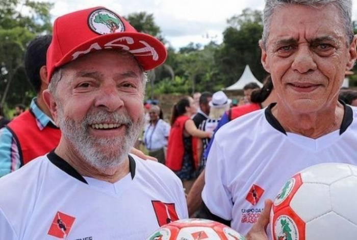 Lula e Chico Buarque
