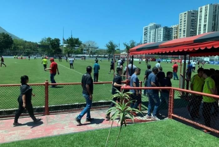 Confusão marcou Flamengo e Vasco