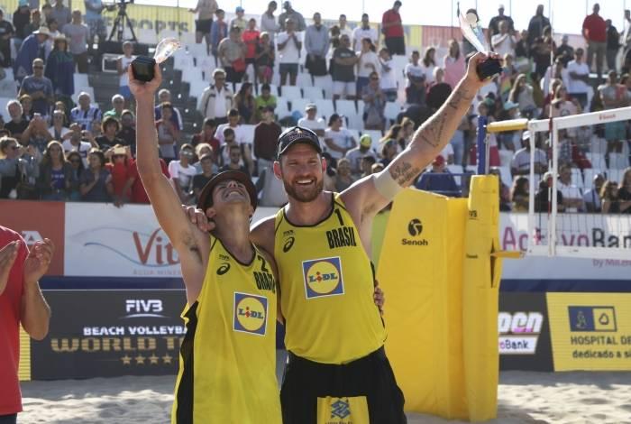 Álvaro, debutante nos Jogos, e Alison, campeão olímpico, vão a Tóquio