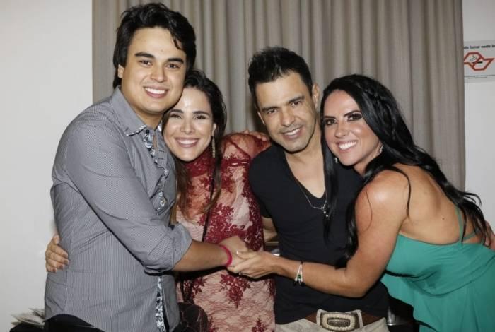 Igor, Wanessa e Zezé Di Camargo e Graciele Lacerda