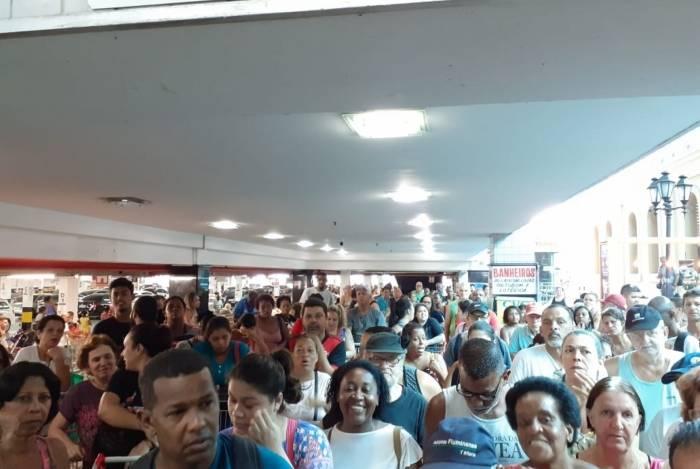 Movimentação deste sábado em redes do supermercado Guanabara