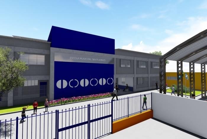 Nova Escola Municipal Santo Amaro vai atender estudantes de Xerém